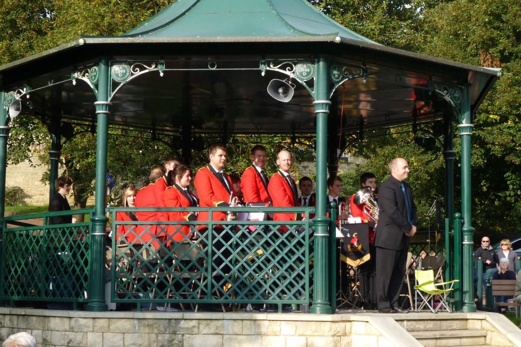 Wetherby Bandstand Sept 2014