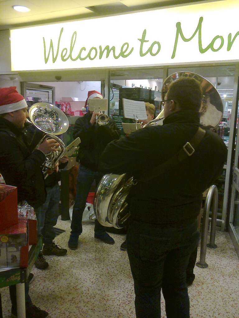 Morrisons  Meltham – Carols for the Shoppers