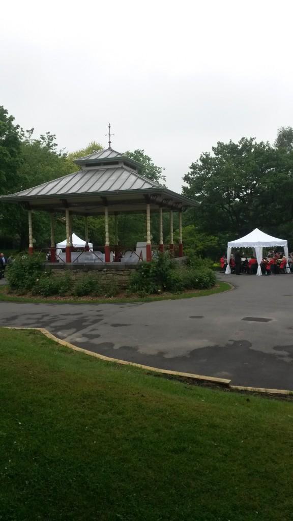 Wedding in Beaumont Park – June 2016