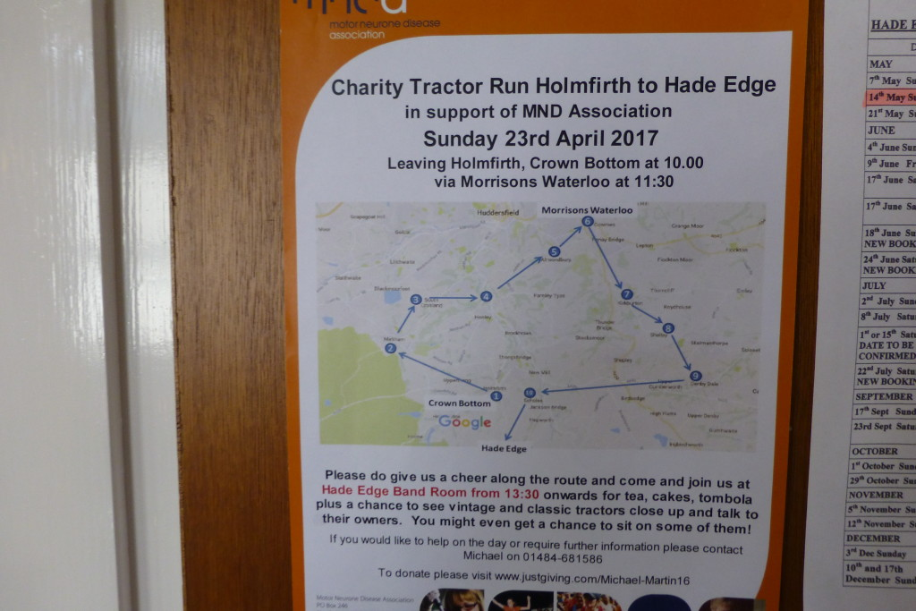 Tractor Rally- MNDA – April 2017