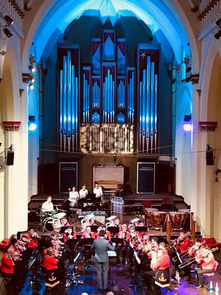 110th Anniversary Concert in St. Paul's Hall Huddersfield